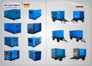 Sales Genset - 081284190810 Silent Type & Trailer